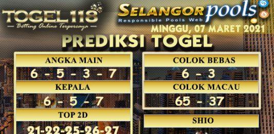 Prediksi Togel Selangor 07 Maret 2021